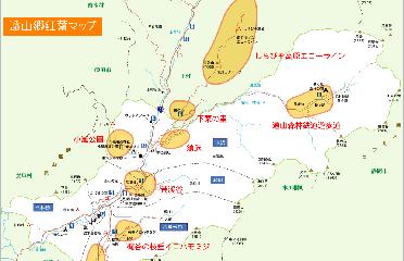 観光地などでよく見られるエリア要約地図