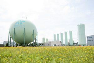 都市ガス製造工場
