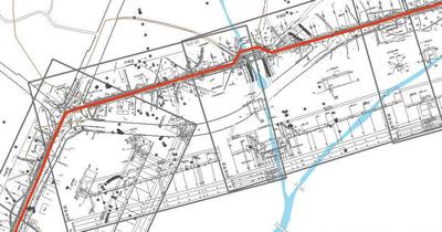 図面と地図の連携
