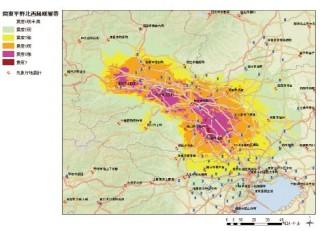 北関東直下型地震における震度分布