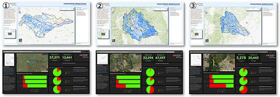 米国連邦政府の保護水域と湿地のモデリング